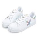 PLAYBOY 閃閃霓光貝殼小白鞋 -白彩(Y7221)