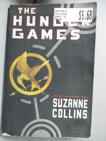 【書寶二手書T8/原文小說_GOR】The Hunger Games_Suzanne Collins
