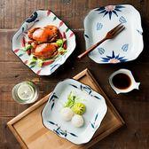 618好康鉅惠碟子早餐盤創意深菜盤壽司盤四方盤