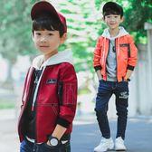 童裝5男童秋裝外套兒童中大童13休閒開襟15歲