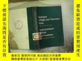 二手書博民逛書店Dictionary罕見of Radio and Televis