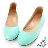 G.Ms. 旅行女孩II‧素面全真皮可攜式軟Q娃娃鞋(附專屬鞋袋)  *薄荷綠