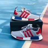 Adidas Originals NMD R1 輕量慢跑鞋 男女 灰銀紅 美國隊長 F99714