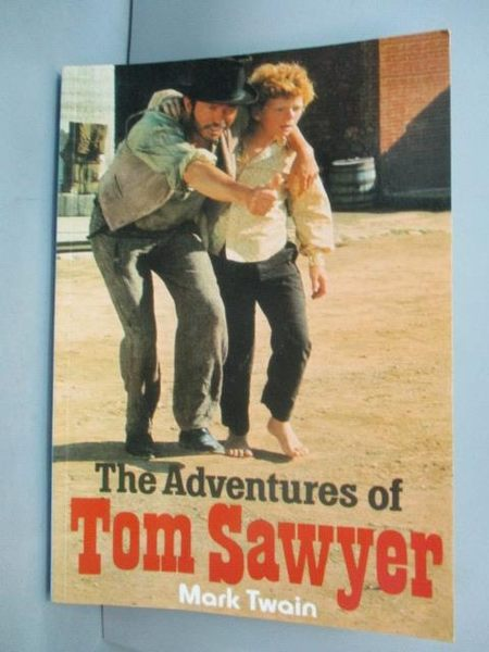 【書寶二手書T3/原文小說_GDV】The Adventures of Tom Sawyer _Mark Twain