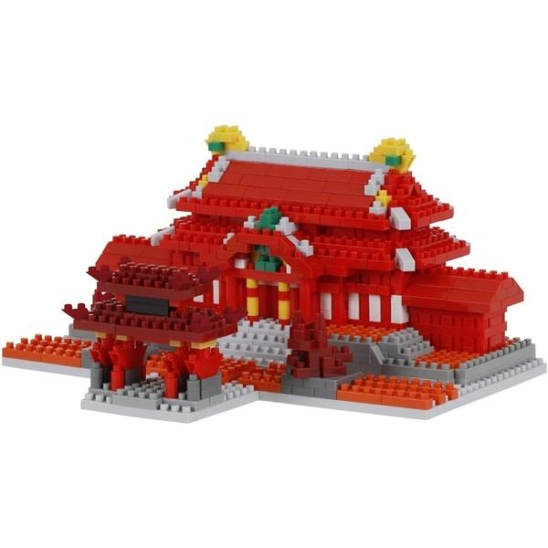 《 Nano Block 迷你積木 》【世界主題建築系列】NBM_030 首里城 / JOYBUS玩具百貨