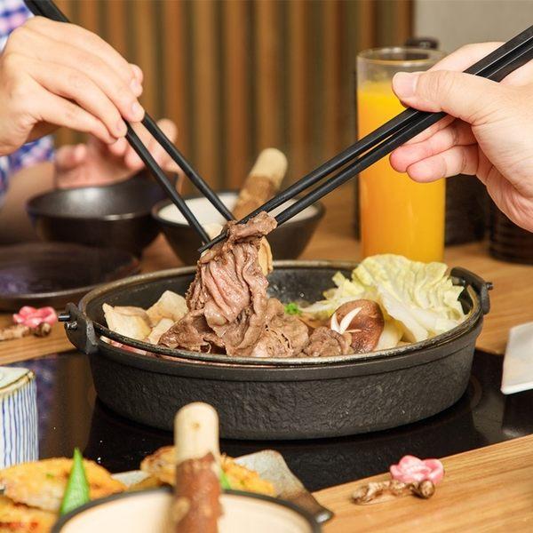 Don-tei壽喜燒上極鍋物2人美國雪花牛吃到飽+無酒精飲料暢飲