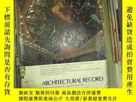 二手書博民逛書店ARCHITECTURAL罕見RECORD 1974 4 記錄體系結構Y180897