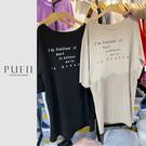 限量現貨◆PUFII-洋裝 正韓英字休閒...