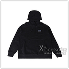EMPORIO ARMANI 經典EA7橡膠LOGO棉男士連帽T恤(S/L/XL/黑)