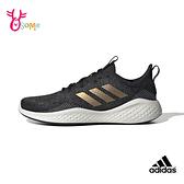 adidas 成人女款 FLUIDFLOW 經典鞋 運動慢跑鞋 S9314#黑金◆OSOME奧森鞋業