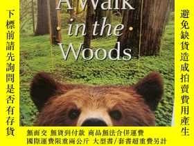 二手書博民逛書店比爾·布萊森罕見Bill Bryson:A Walk in th