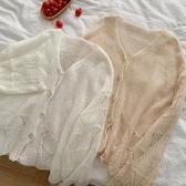2020年新款春冬季女裝韓版慵懶風針織小外套潮百搭寬鬆開衫上衣潮 安雅家居館