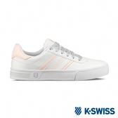 K-SWISS Court Lite Spellout時尚運動鞋-女-白/粉紅