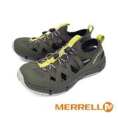 MERRELL(男)HYDROTREKKER SYNTHETIC 水陸兩棲鞋-橄欖綠