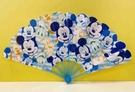 【震撼精品百貨】 Micky Mouse_米奇/米妮~迪士尼摺疊扇子-米奇藍#95515
