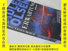 二手書博民逛書店Erwartunc罕見Thriller【36開德語原版】Y16472 Adler Olsrn DTV ISBN