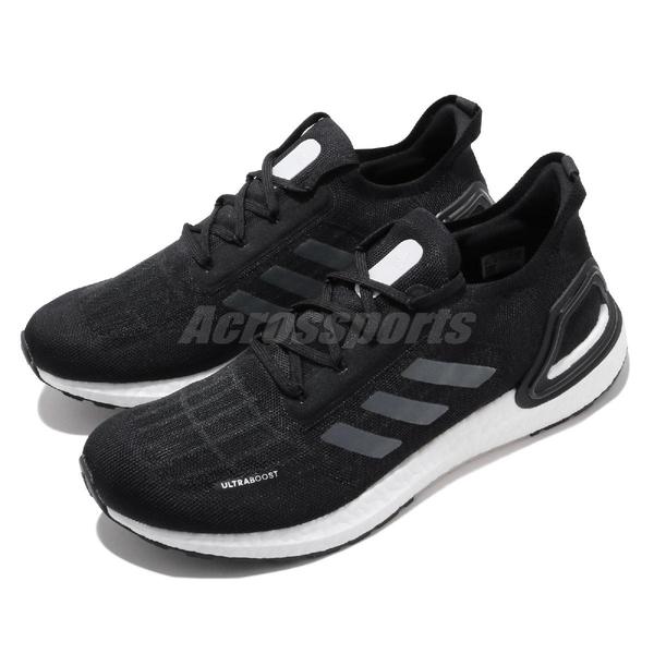 【六折特賣】adidas 慢跑鞋 UltraBOOST Summer.RDY 黑 白 男鞋 涼感 透氣 運動鞋【ACS】 EG0748