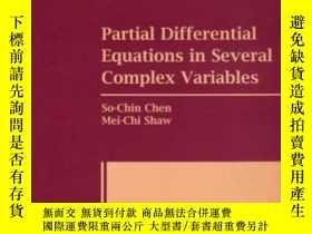 二手書博民逛書店Partial罕見Differential Equations In Several Complex Variab