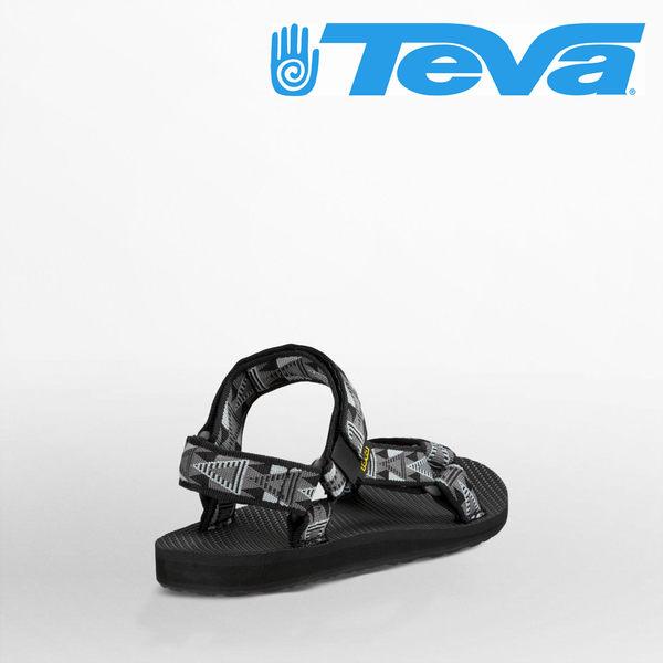 TEVA 男款 ORIGINAL UNIVERSAL 復古織帶涼鞋-黑白馬賽克 4006MBDS