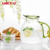 耐熱高溫冷水壺玻璃果汁壺涼水壺套裝