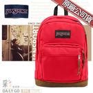 JANSPORT後背包包帆布包15吋筆電包大容量JS-43969-5KS磚紅