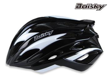 BAISKY 自行車安全帽 第一代 輕量級 安全帽 黑白 百士奇 運動王【162501000104】