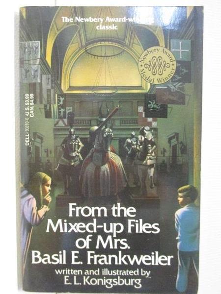 【書寶二手書T4/原文小說_HUE】From the Mixed-up Files of Mrs. Basil E. Frankweiler