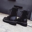 襪靴 馬丁靴 襪 英倫風 靴子 短靴 單靴