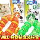 【培菓平價寵物網】日本SANKO WILD》寵物鼠套裝(橘色U03/綠色U04)接管/組