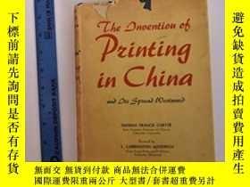 二手書博民逛書店The罕見Invention Of Printing In China And Its Spread Westwa