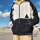 寬鬆防曬衣夾克男士加肥大尺碼休閒運動外套正韓潮男裝