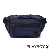 PLAYBOY- Navy Rabbit 湛藍海洋系列 2WAY腰包-湛藍