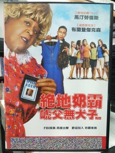 挖寶二手片-C48-正版DVD-電影【絕地奶霸:唬父無犬子】-馬汀勞倫斯 布萊德傑克森(直購價)