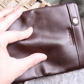 名片夾真皮男商務韓大容量卡包時尚高檔隨身創意頭層牛皮簡約刻字