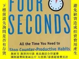 二手書博民逛書店Four罕見Seconds: All the Time You Need to S... (大32開,精裝 ) 【