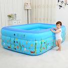 交換禮物-加厚小孩家用充氣遊泳池嬰兒童洗...
