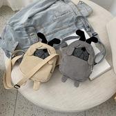 上新搞怪小包包女學生韓版簡約百搭休閒斜背包可愛側背卡通醜萌包 新年禮物