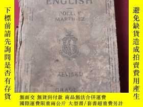 二手書博民逛書店1924年英文版罕見correct english a lang