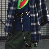 定制款韓版個性褲錬潮人腰帶男潮腰錬女士性感金屬裝飾 黛尼時尚精品