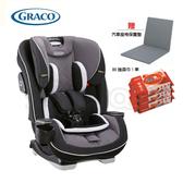 GRACO 0-12歲長效型嬰幼童汽車安全座椅 SLIMFIT LX (銀灰巨岩)【送 Aprica汽座保護墊+80抽濕巾1串】