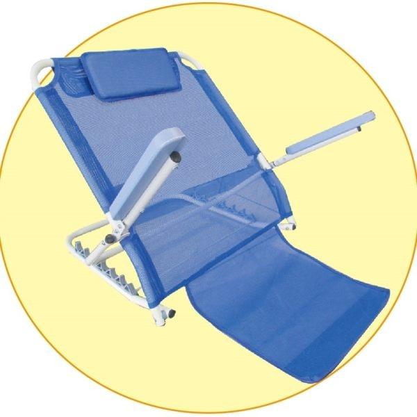 舒適靠背架 - 附扶手、網布材質 銀髮族 臥床者適用 床上、和室、戶外郊遊皆可用 [ZHCN1753]