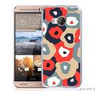 ✿ 3C膜露露 ✿【彩色花朵*硬殼】HTC ONE ME手機殼 手機套 保護套 保護殼