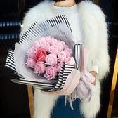 七夕情人節禮物女朋友浪漫情侶實用香皂花生日禮物仿真花禮品