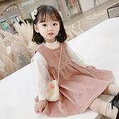 女童春裝洋裝3歲嬰兒公主春季兒童長袖淑女洋氣2女寶寶裙子春秋 幸福第一站