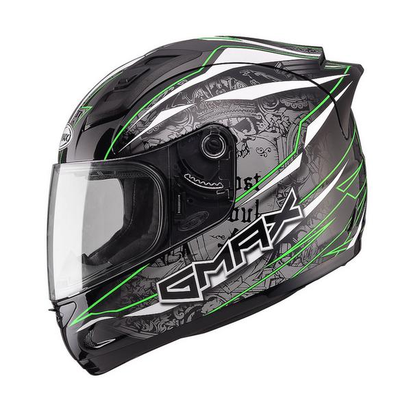 【SOL 69S GMAX 閃靈 全罩 安全帽 黑綠 】68S、免運費、加贈好禮