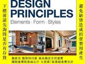 二手書博民逛書店Kitchen罕見And Bath Design Principles: Elements Form Styles