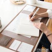 多功能大桌墊游戲鼠標墊書桌墊純色簡約鍵盤墊辦公筆記本桌墊-ifashion