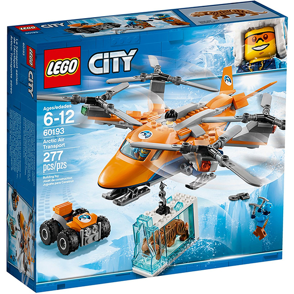 【LEGO 樂高 積木】 60193 城市City 極地空中運輸機 Arctic Air Transport