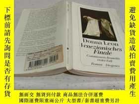 二手書博民逛書店Donna罕見Leon Venezianisches Finale(唐娜·萊昂威尼斯決賽)Y212829
