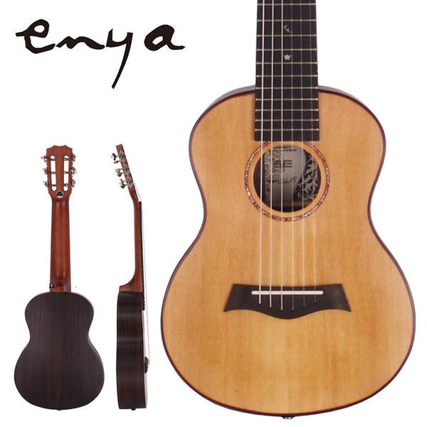 ★集樂城樂器★Enya 28吋吉他麗麗A级紅松單板EGL-05(玫瑰木指板)